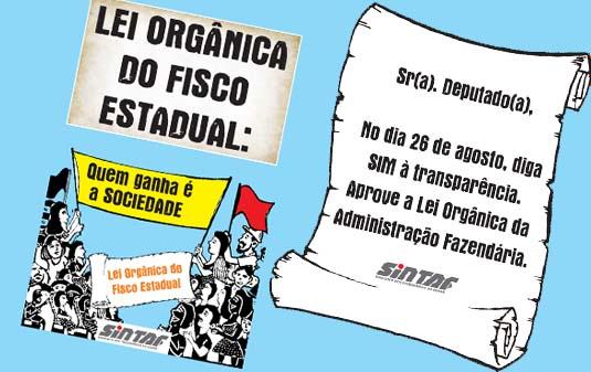 PEC da Lei Orgânica: SINTAF-CE convoca grande mobilização para esta terça-feira (19)
